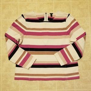 J.crew women's striped shirt